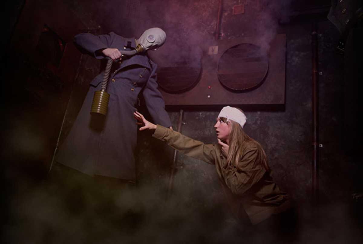 Фотография квеста Призрачный бункер от компании PodZamkom (Фото 1)